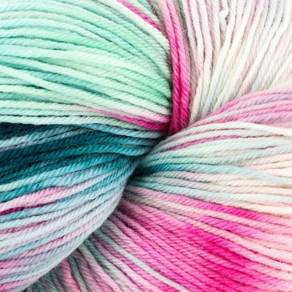 Heritage Paints 100g Skein Sock Yarn- Rose Blush