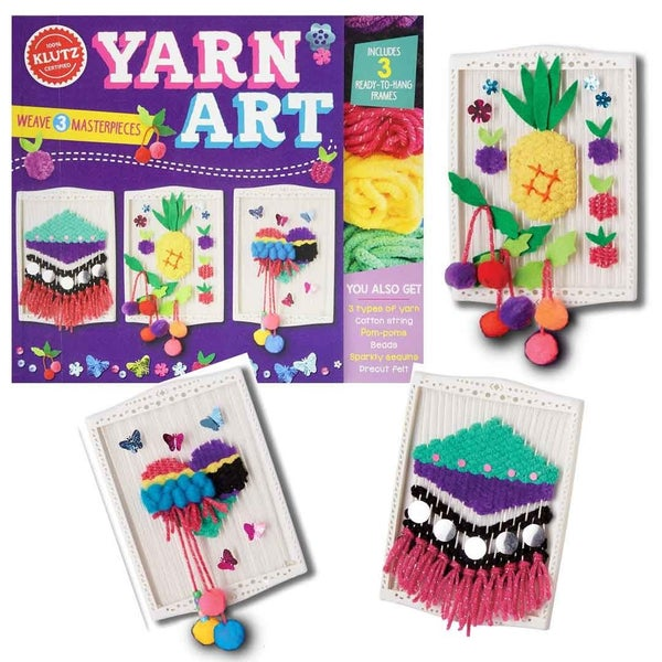 Klutz Yarn Art Craft Kit