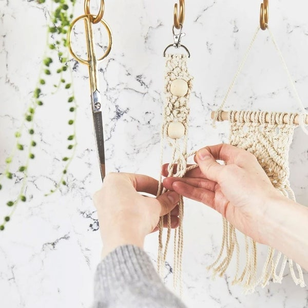 Mini Macrame Keyring Craft Kit
