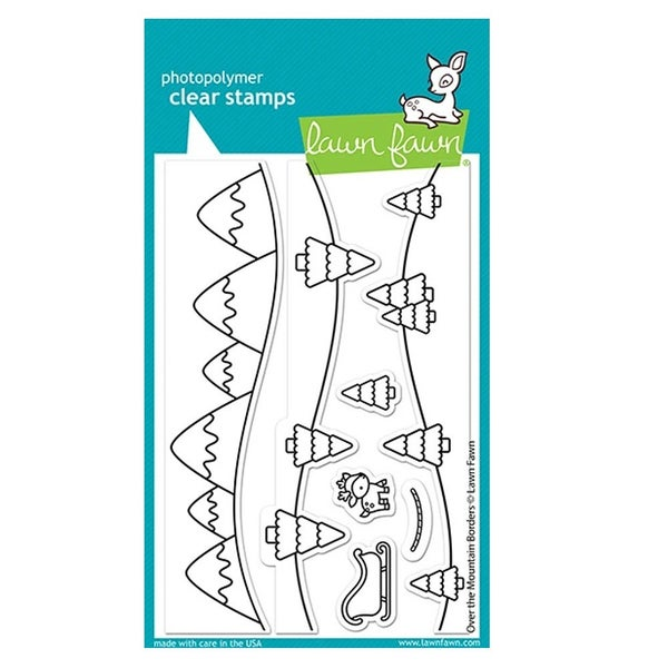 Over the Mountain Borders Stamp Set - Lawn Fawn