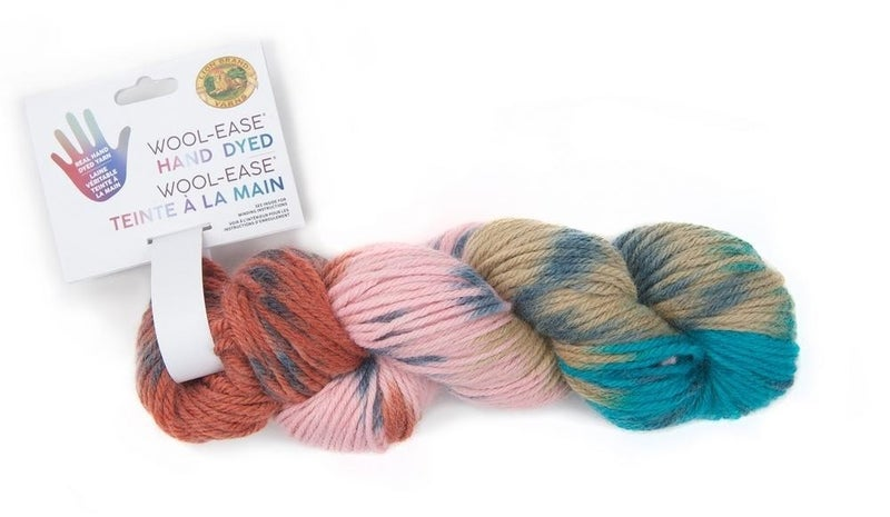 Lion Brand, Wool-Ease® Hand Dyed Yarn- Butterfinger