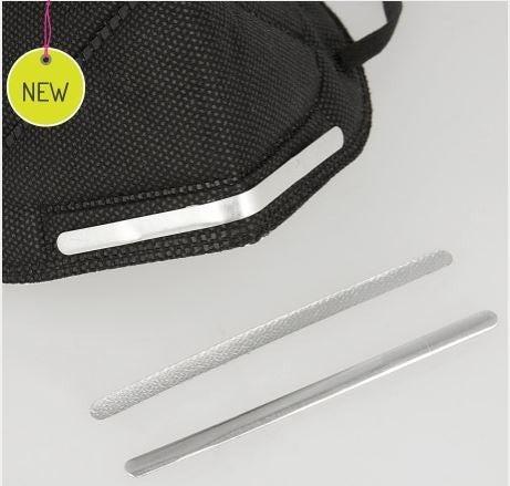Adhesive Aluminum Nose Bridge  Strips - 25 piece bag