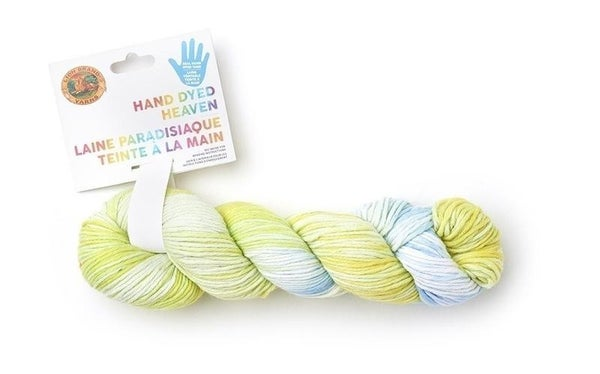 Lion Brand® Hand Dyed Heaven Yarn- Cabbage Patch