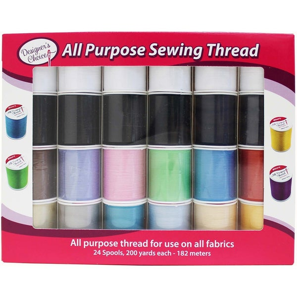 24 Count Thread Assorted in Gift Box
