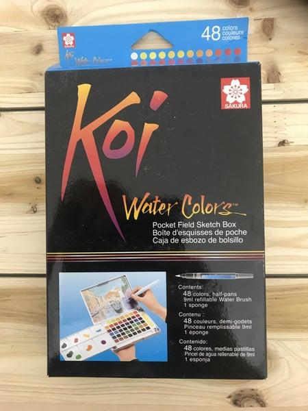 Koi Field 48 Color Watercolor Box Set