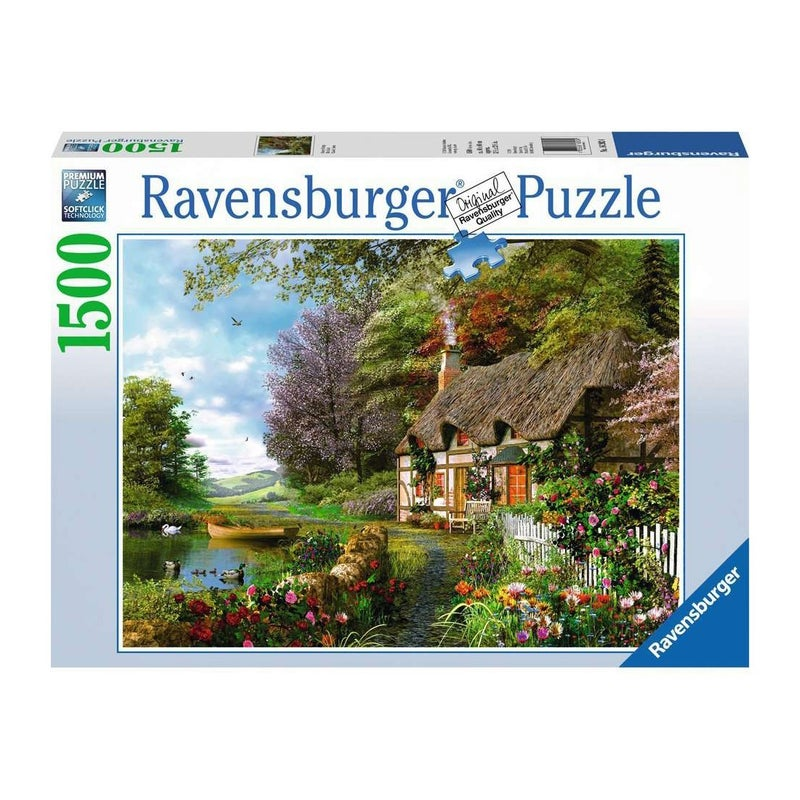 Country Cottage Puzzle, 1500 pieces