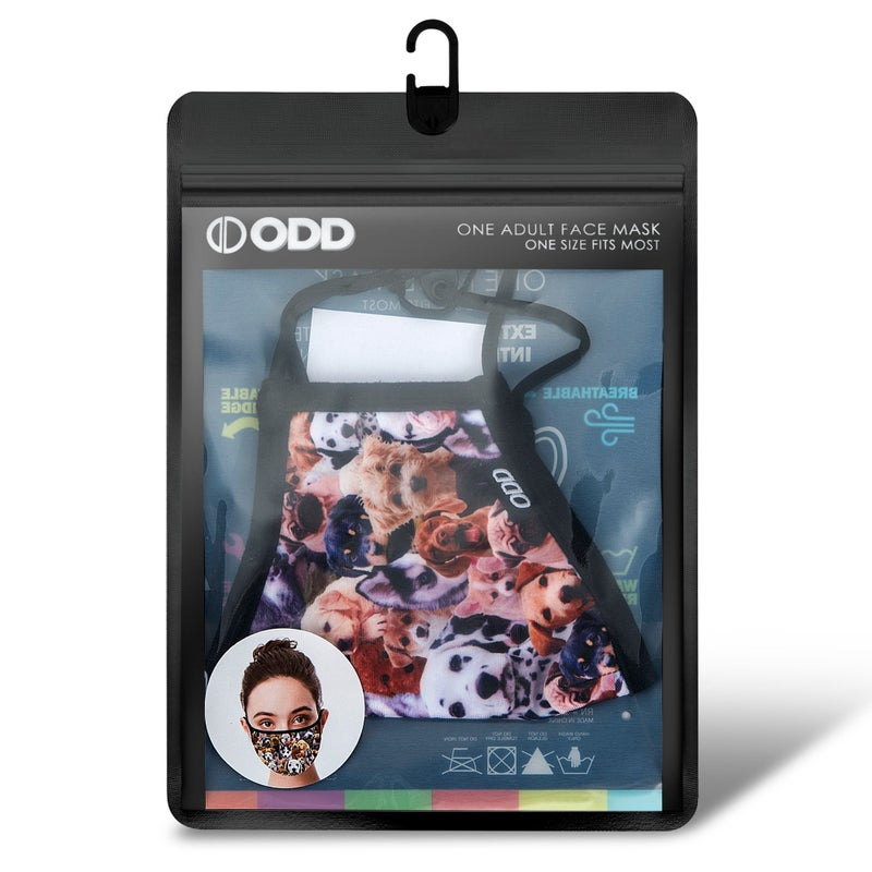 Puppies Face Cover, Odd Sox