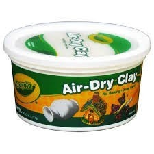 Crayola White Air Dry Clay 2.5 lbs.