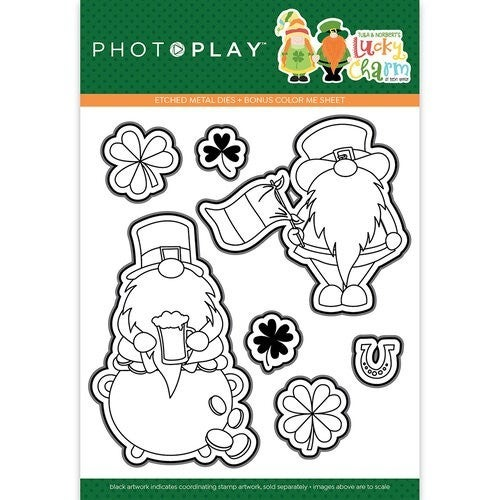Lucky Charm die cut set gnome