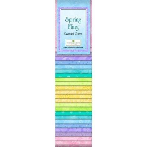 Quilting Strip Packs- Essential Gems, Spring Fling