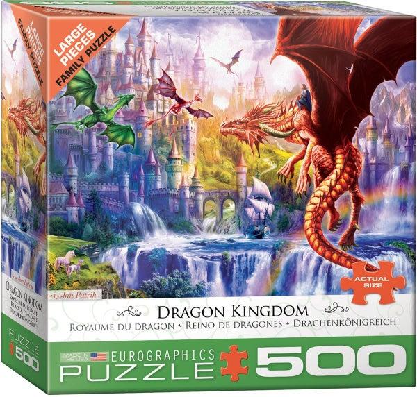 Dragon Kingdom by Jan Patrik 500-Piece Puzzle