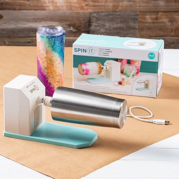 Spin It Tumbler Turner, Motorized Rotary Drying Tool- We R Memory Keepers