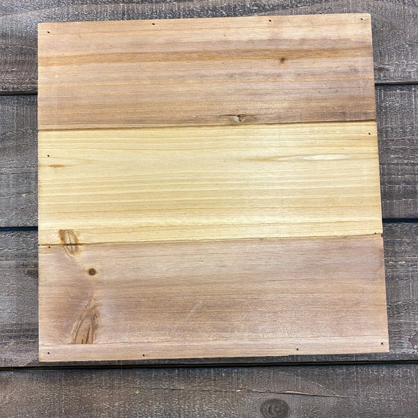 Wood Square Pallet Board, 12 x 12- Natural