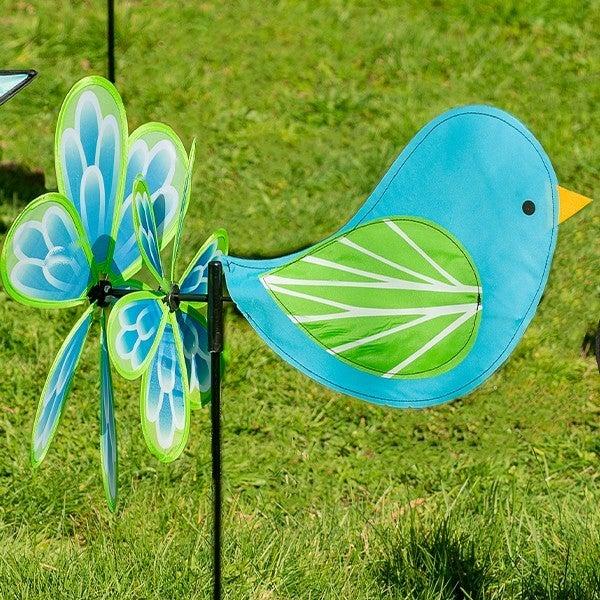 Blue Bird Wind Spinner