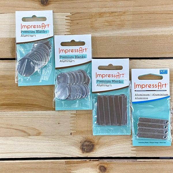 Aluminum Metal Stamping Blanks, ImpressArt