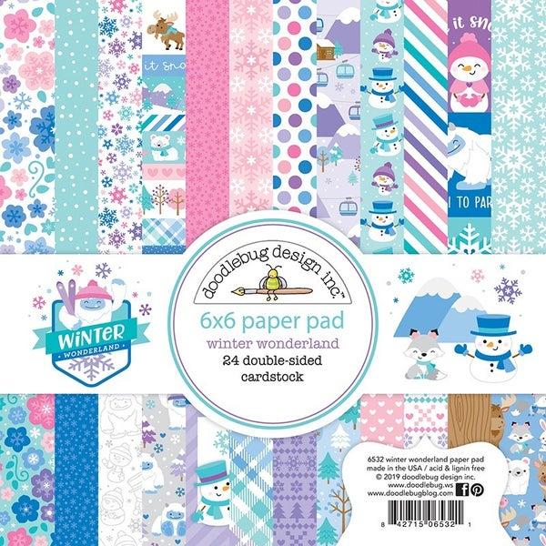 Doodlebug Design- Winter Wonderland 6x6 Collection Paper Pack
