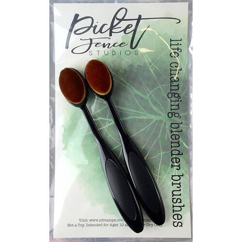 Picket Fence Studios- Life Changing Blending Brush Set: 2 pieces
