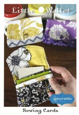 Valori Wells Designs Little Wallet Sewing Card Pattern