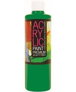 Student Acrylic Paint 16oz, Brilliant Green