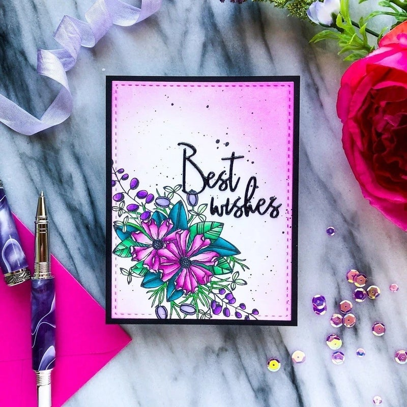 Pink Fresh Studios- Just a Little Lovely Stamp Set