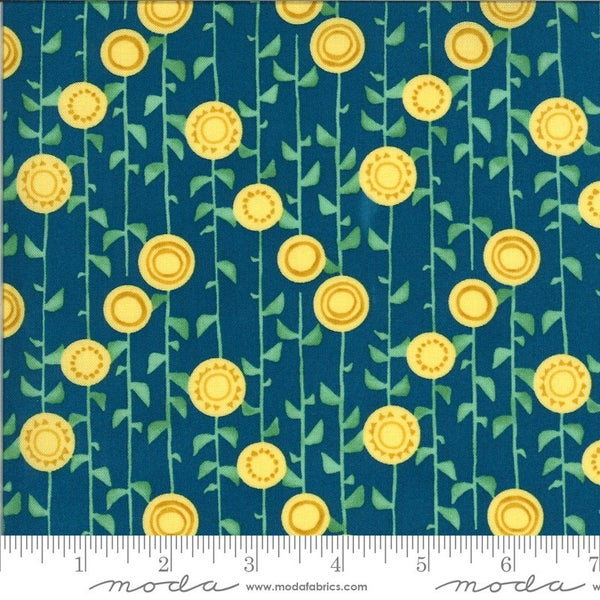 1 Yard Cut - Solana Collection Stalks Horizon - Designed by Robin Pickens for MODA Fabrics