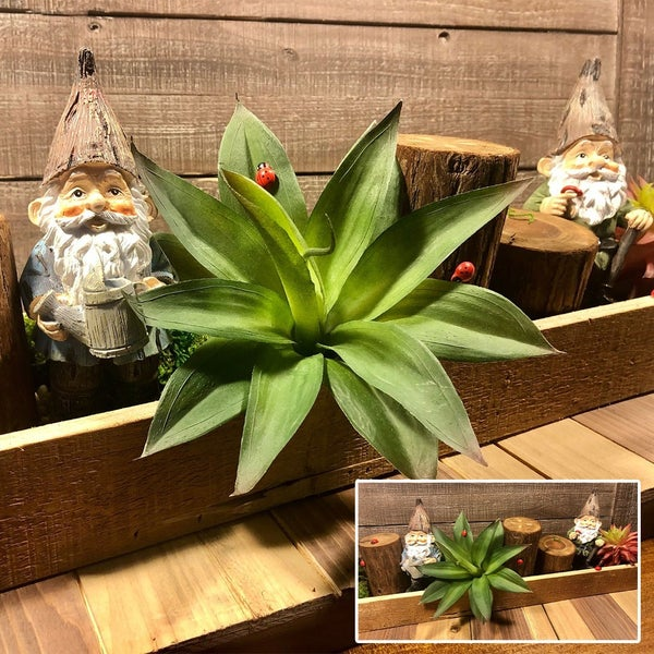 Gnome Mini Garden Table Top Tray