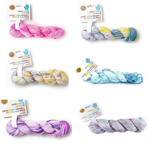 Lion Brand® Hand Dyed Heaven Yarn (choose colors)