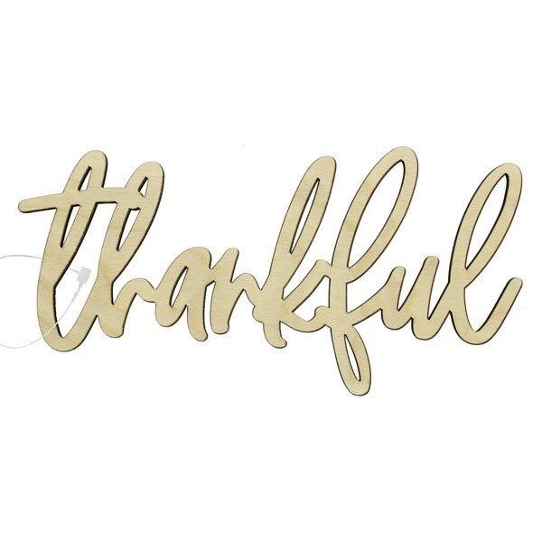 Thankful Wood Word