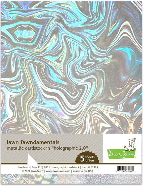 Holographic Cardstock 2.0  5pk