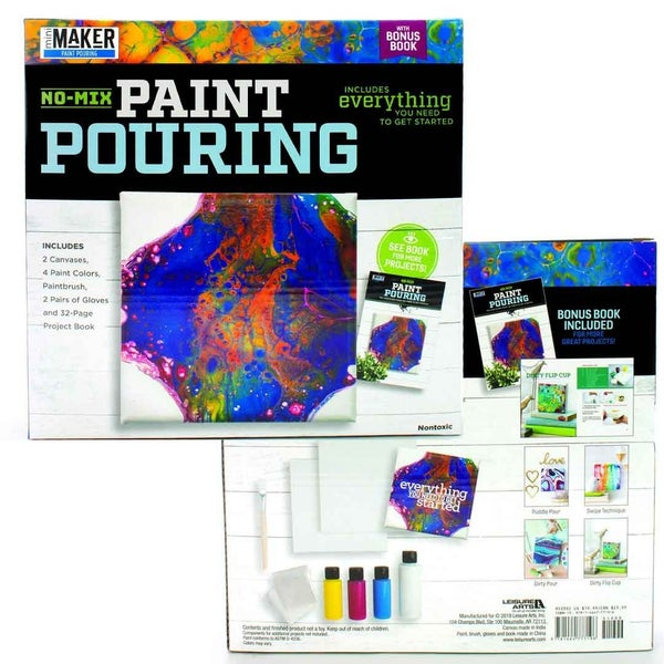 Paint Pouring Mini Maker Kit