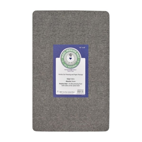Maywood Market Wool Mat - Felt Pressing Mat 12 x 18
