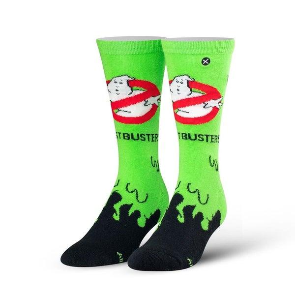 Ghostbusters Slime Knit Crew Socks