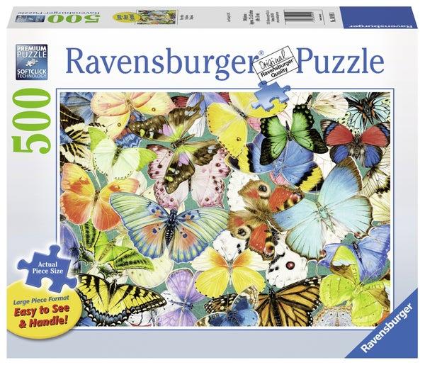 Butterflies 500 Pieces, Puzzle