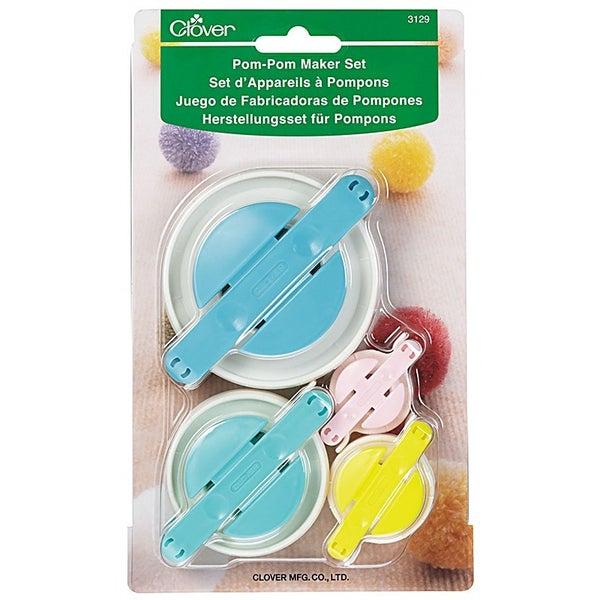 Clover Pom Pom Maker 4 pc Set