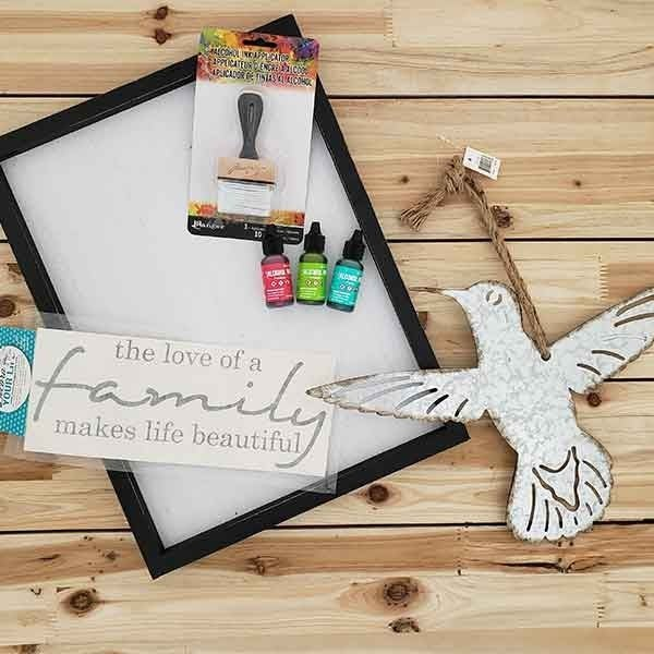 Hummingbird Alcohol Ink Make and Take Bundle
