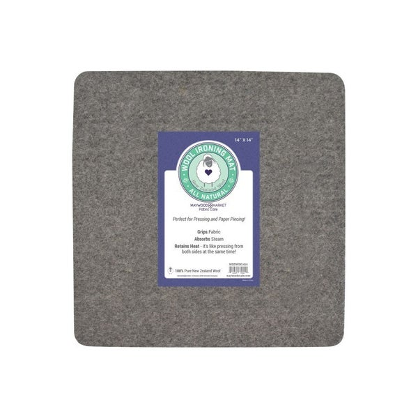 Maywood Market Wool Mat - Felt Pressing Mat 14x14