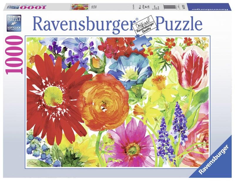 Abundant Blooms 1000 Pieces, Puzzle