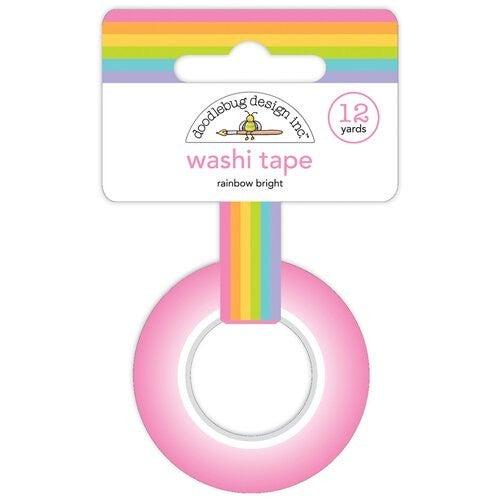 Rainbow Bright Washi Tape, Fairy Garden by Doodlebug