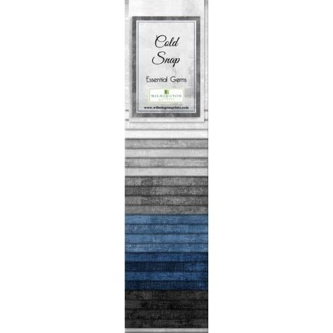 Quilting Strip Packs- Essential Gems, Cold Snap