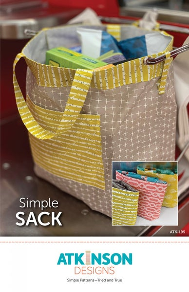 Simple Sack Pattern- Atkinson Designs