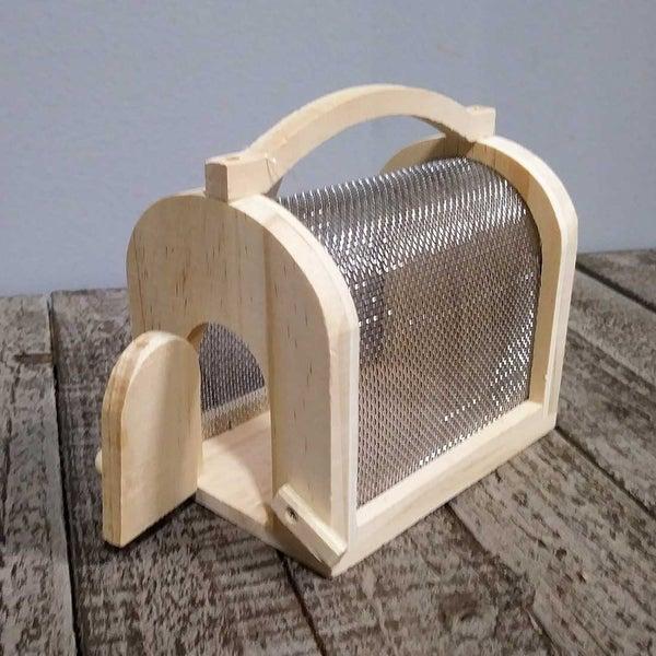 Unfinished Wood Bug Cage