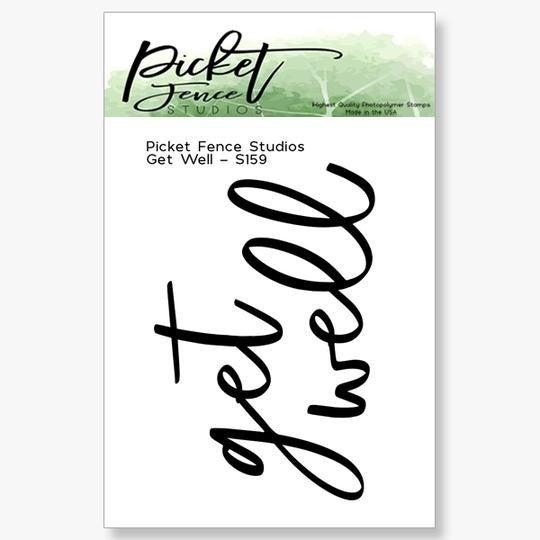 Picket Fence Studios- Get Well Stamp Set