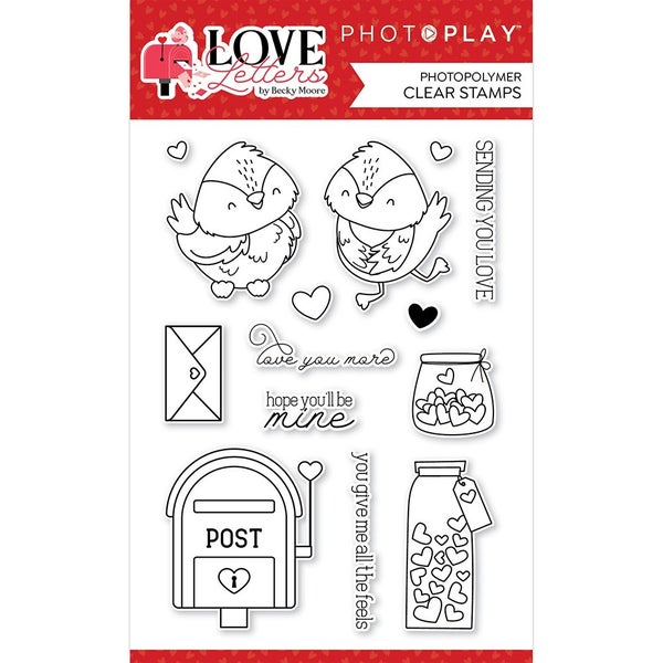 Love Letters Clear Stamp Set