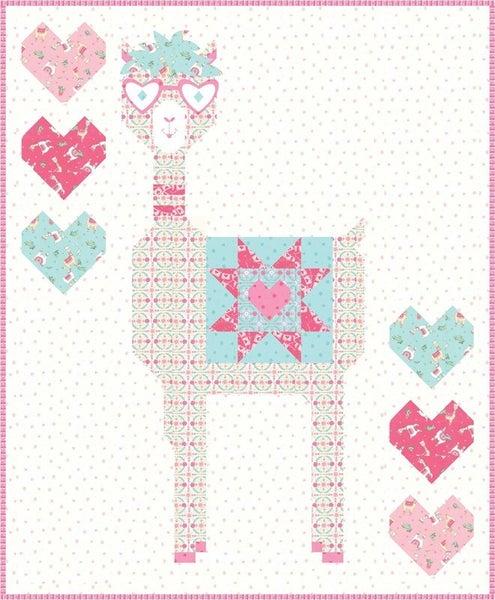 Llama Love Llama Mama Quilt Kit