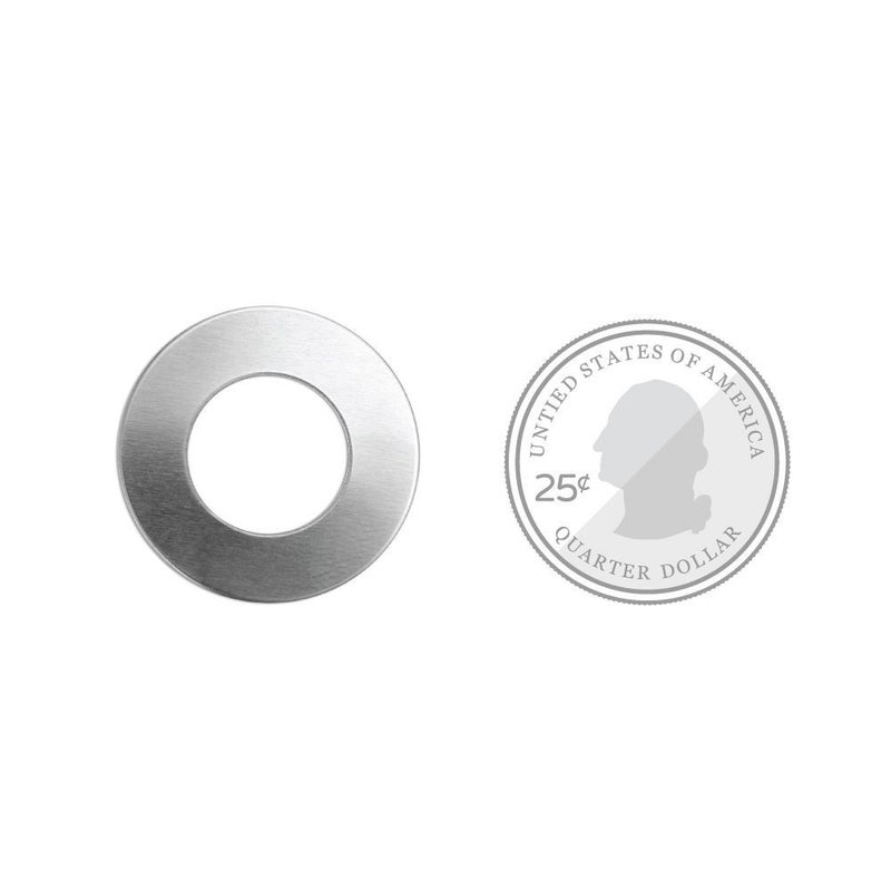 ImpressArt- Metal Stamping Blank- 1 inch Washer w/ Hole
