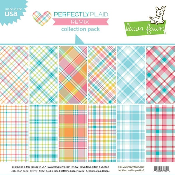 Perfectly Plaid Collection Pack 12inch x 12 inch