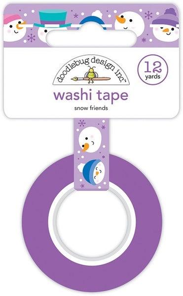 Doodlebug Design- Snow Friends Washi Tape