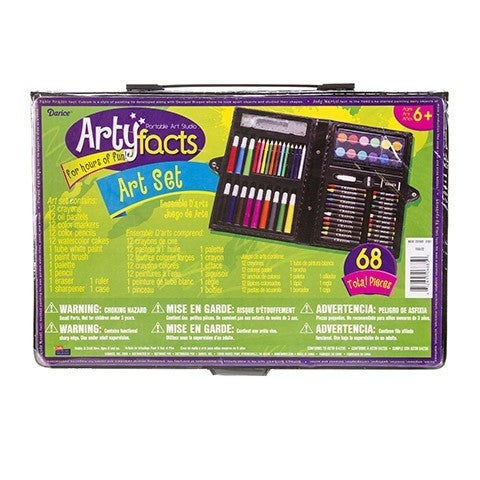 Arty Facts Art Set - 68 piece set