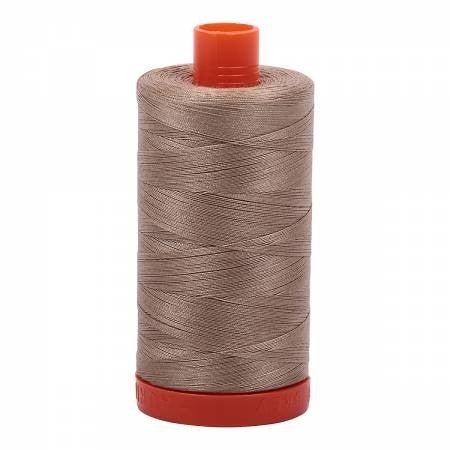 Aurifil Thread 50wt Cotton 1422 yard, Linen