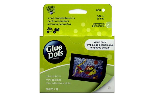 Glue Dots, 3/16 inch- Mini School Value Pack 600